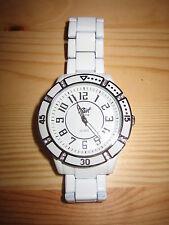 Pearl DE Luxe Herrenarmbanduhr weiß