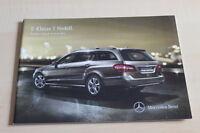 99436) Mercedes E-Klasse T-Modell W212 - Preise & Extras - Prospekt 01/2012