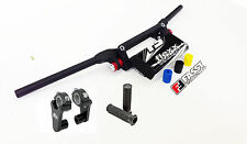 "Fasst Flexx Flex 10 Degree Enduro High Handlebar Black Pad + Rox 2"" Riser Fast"