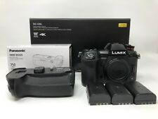 Panasonic LUMIX DC-G9 Camera Body AND DMW-BGG9 Battery Grip NO RESERVE
