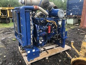 Caterpillar C10 Diesel Engine Power Unit Industrial Engine  Runs Good