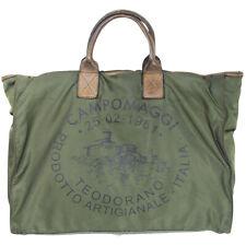 CAMPOMAGGI Shopper Nylon, Militare, Nera