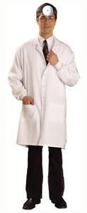 Dr. Lab Coat Unisex Adult Jacket Costume
