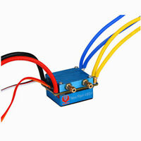 480A Brushed ESC Dual Motor ESC Water-Proof Electronic Speed Control RC Boats