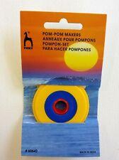 Pony Pom Pom Maker - make bobbles - 3 sizes - 2cm 3.5cm 5.5cm - Craft Gift Knit