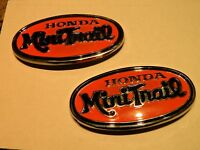 Z50 Honda oval side tank tags 1971 K2 oval repro tanks better than new!