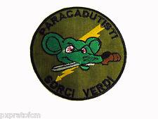 Patch Paracadutisti Folgore Cp.Sorci Verdi Toppa per Mimetica Vegetata Militare
