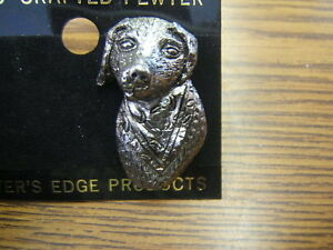 Unpainted  Labrador Lab Retriever Dog Hat Pin Brand New