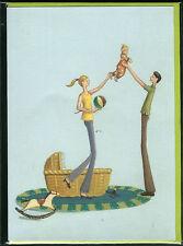 Carte de voeux Naissance Bébé baby birth card