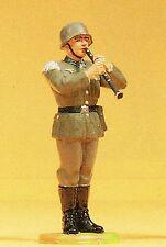 Preiser Elastolin 56036 Musiker stehend Klarinette Wehrmacht 1:25 Sammlerfigur