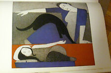 Will Barnet  Blue Robe Poster Offset Lithograph  Unsigned 16x11