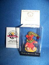 World of Miniature Bears #1037 Checkers by Becky Wheeler