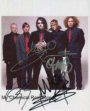 My Chemical Romance SIGNED Photo 1st Generation PRINT Ltd,  + Certificate / 2