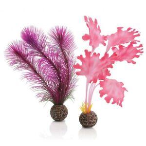biOrb Ornament Pink Kelp Small - Aquarium plant
