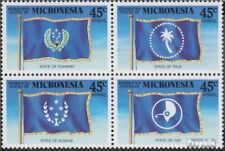Mikronesien 119-122 block of four (complete.issue.) unmounted mint / never hinge