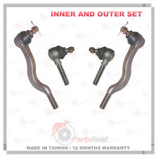 Full set Tie Rod Ends Inner & Outer MITSUBISHI Triton MK 2.4L 2.8L 2WD RWD 96-06