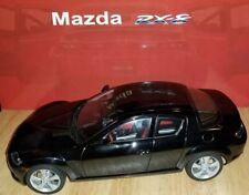 New!!! 2003 MAZDA RX-8 AutoArt Die-Cast Model 1:18  ** Black ** employee won **