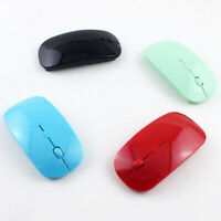 Rechargeable 2.4GHz Wireless Optical Sensor Mouse Mice+USB Receiver Laptop PC