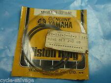 Yamaha ycs1_ht1_1968-71 _ Piston Bagues + 0,50 mm _ Anneaux _ Rings 2nd O/S _ Piston _ Piston
