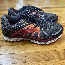 New listing BROOKS Adrenaline GTS 17 Running Shoes Gray/Orange/Fuchsia Womens Size 9.5 B