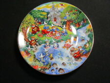 """Franklin Mint """" Purrfect Picnic """" Cat / Kitten Numbered Plate"""