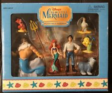 Disney Parks The Little Mermaid Poseable Figures set New In Box