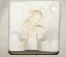 "Vintage Ceramic Pottery Slip Casting Mold - 2 3/4"" Elf or Gnome"