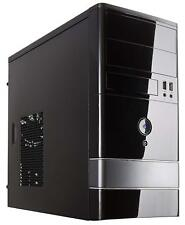 Case Shell Fan ATX Mid Tower Black Desktop PC Gaming