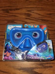 New! Finding Dory Character Swim Mask Goggles DISNEY PIXAR