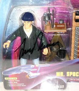1998 MR SPOCK • WARP FACTOR SERIES • AFA 75 EX+/NM • AUTOGRAPHED LEONARD NIMOY