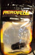 """Aeroflow NPT to Straight Male Flare Adapter 3/8"""" to -6AN"""