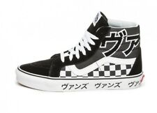 639a52bf3636 VANS~SK8 HI Japanese Type Checkerboard~Size 12~Black Off White~