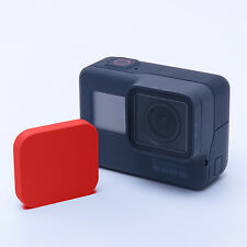 GoPro Hero 5-lentilles protection Lens CAPS Cover protector Couverture Accessoires red