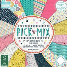 "First Edition 'Pick 'n' Mix' 6"" x 6"" Premium Papers 16 SHEETS"