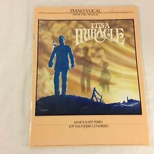 It's A Miracle Janice Kapp Perry Piano Mormon LDS Sheet Music Missionary Mission