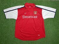 FC Arsenal Londres Camiseta XXL 2000 2001 Nike Fútbol Camiseta Jersey Dreamcast