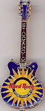 Hard Rock Cafe STOCKHOLM 1998 Mid-Summer PIN GUITAR LE 750 Midsummer - HRC #9278