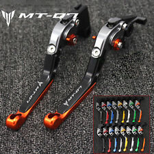 Folding Extending Brake Clutch Levers For YAMAHA MT-07 / FZ-07 2014-2016 CNC