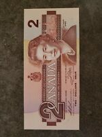 1986 Canada $2 Dollar Banknote Uncirculated BUP7003895