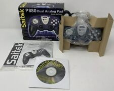 Saitek P880 Dual Analog Pad PC Blue Game Controller In Box Everything Included!