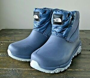 NWT Women's The North Face Yukiona Tin Grey Ankle Boots Waterproof Shoes sz 6-9