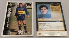 DIEGO MARADONA 1995 ARGENTINA Upper Deck Trading Card VINTAGE Soccer BOCA JRS
