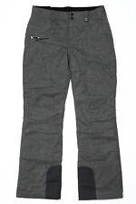 Obermeyer Malta Ski Snow Pants Charcoal Grey - Womens Sz 10 Long