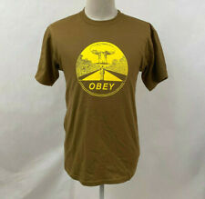 Obey Men's T-Shirt Mushroom Cloud Tapenade Size M NEW Shepard Fairey