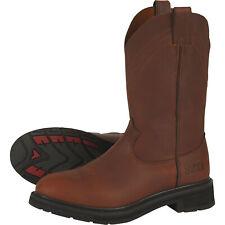 Gravel Gear Men's 12in Western Wellington Work Boots- Brown Size 12 NT1643