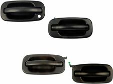 for Chevy GMC Exterior Outer Outside Door Handle Front Rear Complete Set of 4