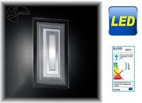 LED Wandleuchte Flur Lampe Wandlampe Eckig Glas Wandleuchter Wohnzimmer Lampe