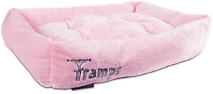 Pet Dog Cat Bed Kennel Mat Warm House Puppy Cushion Soft Blanket Washable Pink