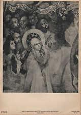 Lithografie: Fotografie, Malerei, Fresko, Martin Schongauer, Maria mit Apostel.