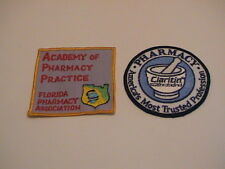 LOT /2 FLORIDA ACADEMY PHARMACY CLARITIN PHARMACIST DOCTORS MEDIC EMT PATCHES